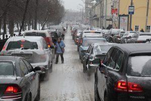 Ситуацию усугубил час пик. Фото: Петр Болховитинов