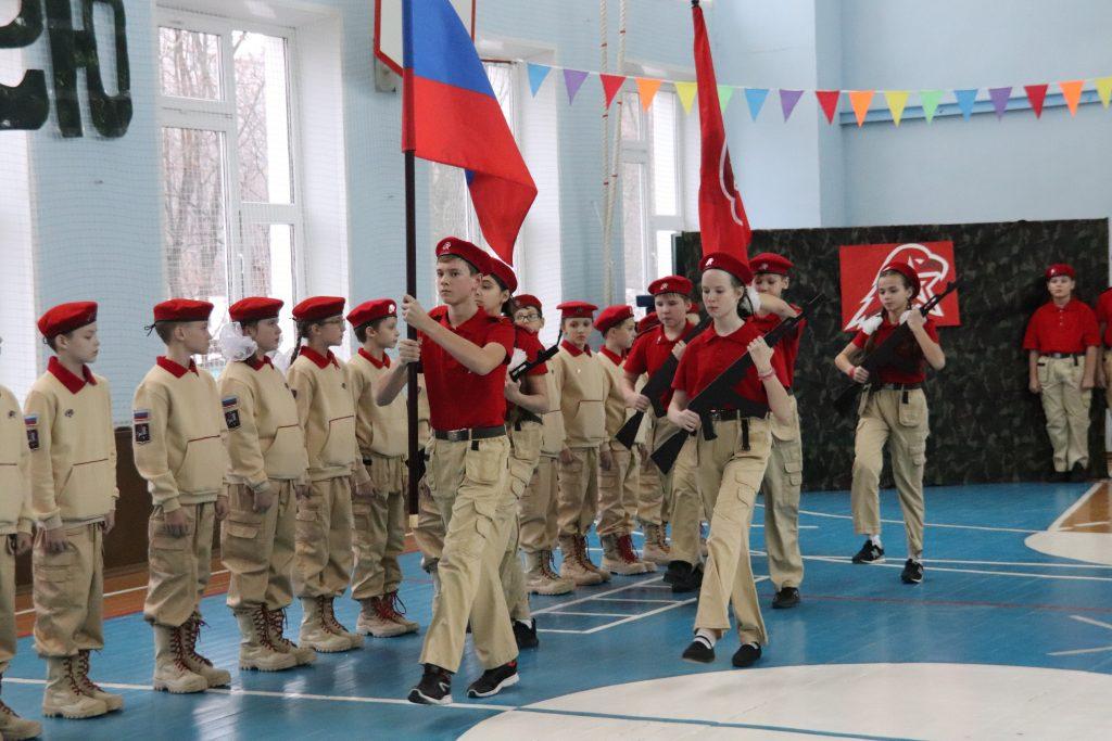 Юнармейцы Орехова-Борисова Южного приняли присягу
