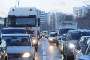 Час пик на столичных дорогах ожидается 24 ноября с 15:30-16:00. Фото: Александр Кожохин