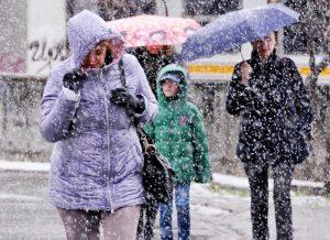 Во вторник в Москве ожидается ухудшение видимости. Фото: Игорь Ивандиков
