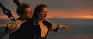 "Фото: скриншот с видео, кадр из фильма ""Титаник"""