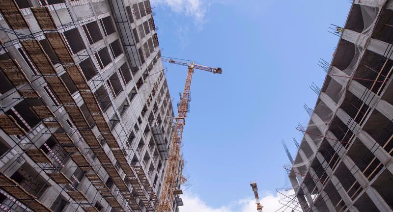 Столичные девелоперы увеличили ввод вэксплуатацию жилья в 2017