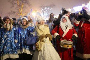 Москвичи проголосуют, как и где праздновать новогоднюю ночь в столице. Фото: Антон Гердо, «Вечерняя Москва»