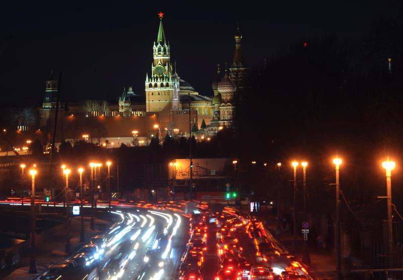 ЦОДД: непогода не повлияла на движение транспорта в Москве