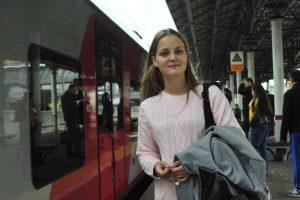 Пассажиры МЦК позитивно оценили работу маршрутной линии. Фото: Пелагия Замятина, «Вечерняя Москва»