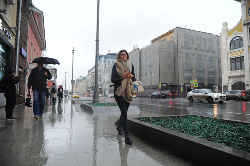 Сегодня в российской столице облачная погода идо5 градусов тепла