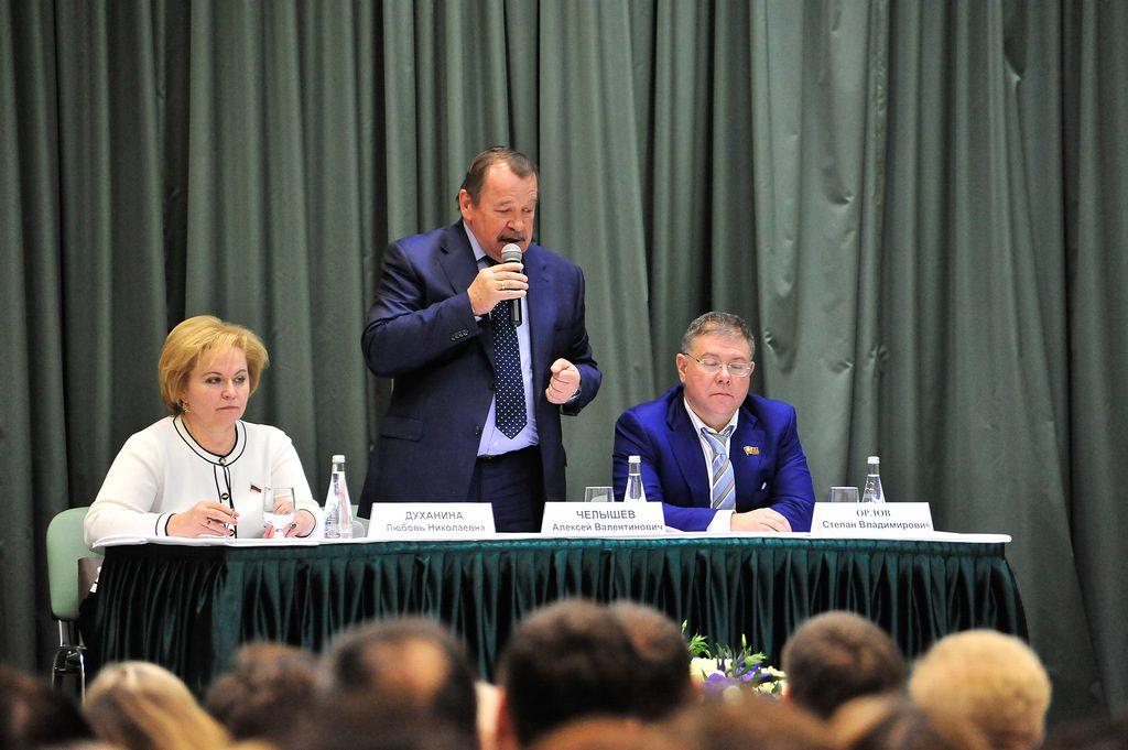 Префект Южного округа Алексей Челышев рассказал жителям об итогах работы