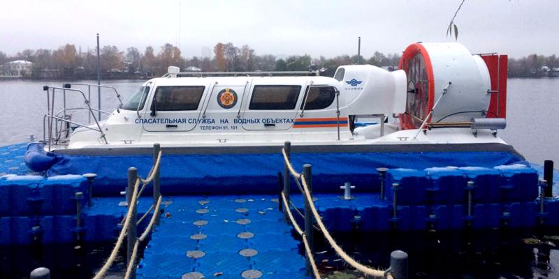Спасательные катера-вездеходы этой зимой впервые выйдут на Москву-реку
