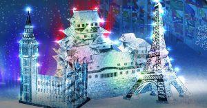 Ледяные Нотр-Дам-де-Пари и Биг-Бен появятся на Поклонной горе в Москве