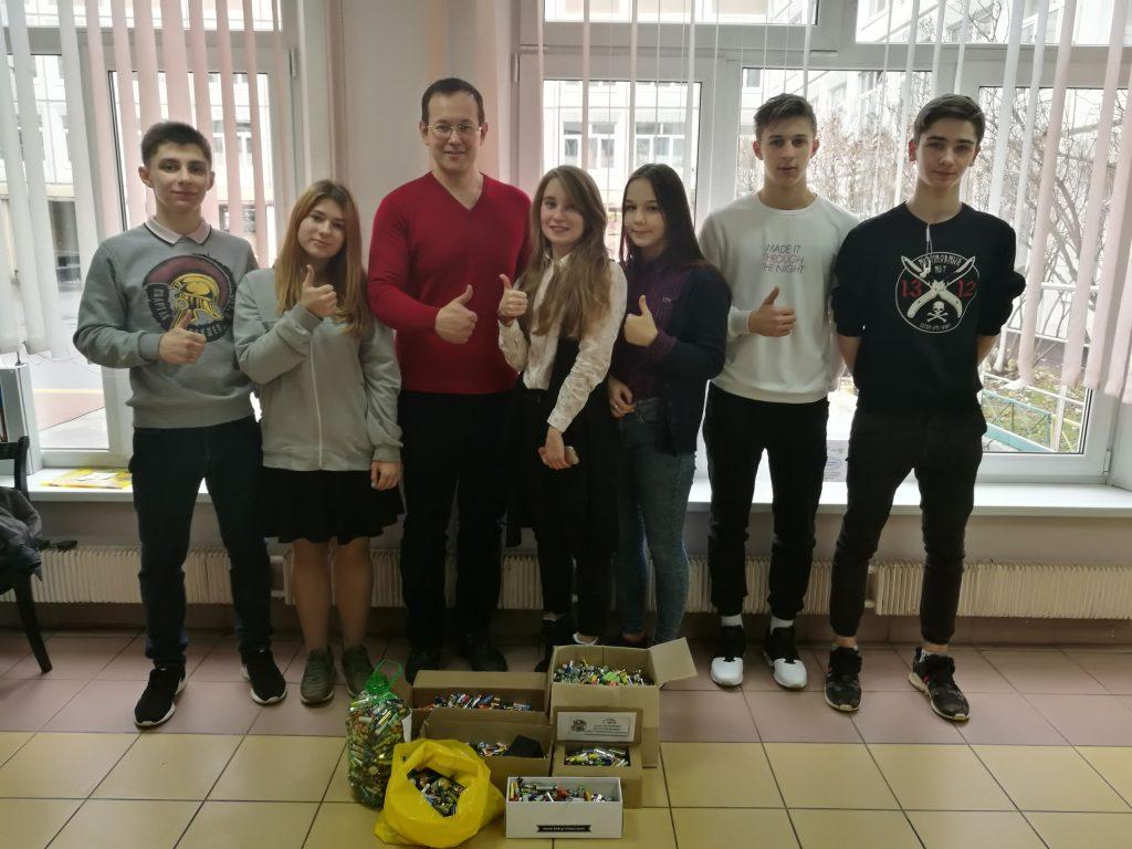 Ученики школы №2116 присоединились к проекту «Зеленый город»