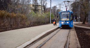 Первая трамвайная платформа венского типа появилась в Москве