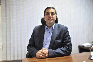 21 ноября 2017 года. Глава управы района Бирюлево Восточное Кирилл Канаев. Фото: Пелагия Замятина