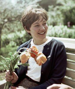 9 мая 1966 года. Лариса Лужина в молодости. Фото: РИА НОВОСТИ