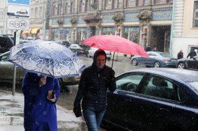 Ожидается мокрый снег. Фото: Анна Иванцова