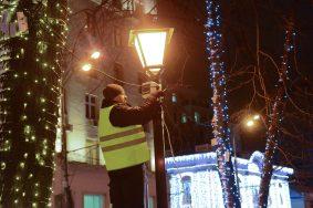Около 13 тысяч светильников установили на Бульварном кольце в центре Москвы