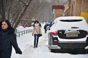 Первый зимний месяц выдался снежным. Фото: Антон Гердо