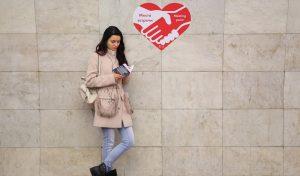 Наклейки «Место встречи» появятся в метро Москвы