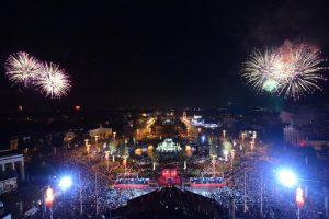 Праздничную выставку к Новому году организует Главное архивное управление города Москвы. Фото: Антон Гердо, «Вечерняя Москва»