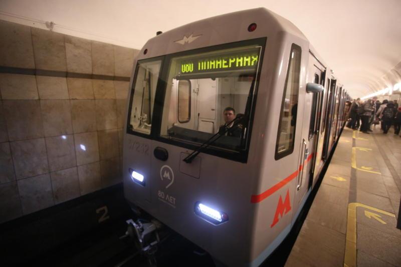 Нафиолетовой линии московского метро случилось 2 сбоя утром