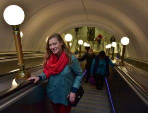 На станции «Тульская» один из двух эскалаторов будет закрыт для проведения профилактических работ. Фото: Антон Гердо, «Вечерняя Москва»
