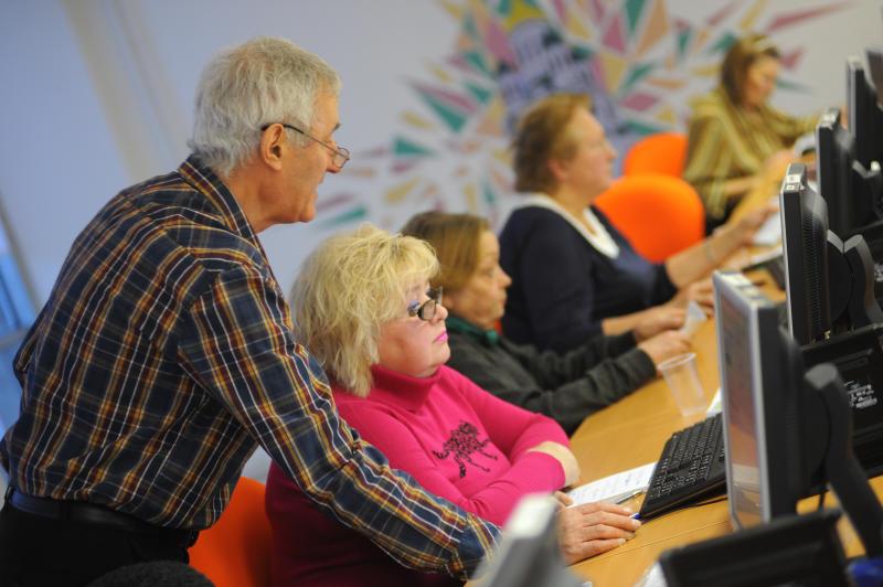 Библиотека №146 запустила проект «Активные пенсионеры»