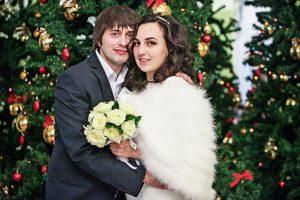 В наступающем году первые свадьбы в Москве пройдут 5 и 6 января. Фото: Павел Волков