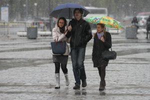 Пригодится зонт. Фото: Антон Гердо