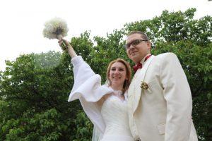 Более 1,8 тысячи браков было зарегистрировано на выездных площадках. Фото: Екатерина Якель