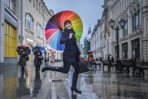 """Ожидается мокрый снег. Фото: """"Вечерняя Москва"""""""