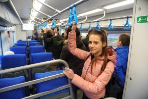 Сотрудники МЦК практически завершили комплексное обновление парка поездов-«Ласточек». Фото: Светлана Колоскова, «Вечерняя Москва»