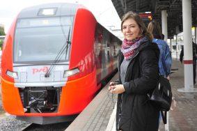 Каждый месяц количество пассажиров на МЦК становится больше. Фото: Пелагия Замятина