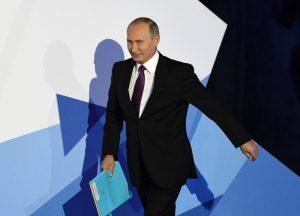Российский лидер неоднократно появлялся на зарубежных экранах. Фото: Официальный сайт президента России