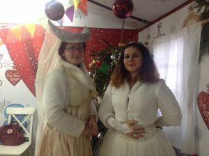 Ведущие мастер-классов Любовь Сенина и Василиса Ефимченко