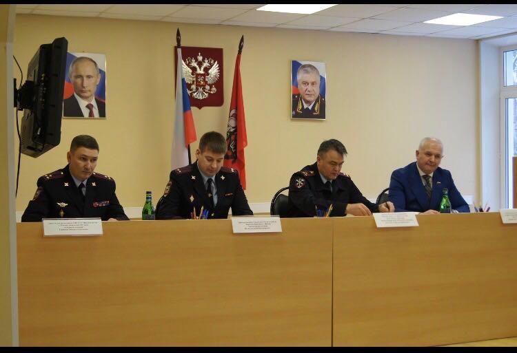Врио начальникаОМВД России по району Бирюлево Восточноеподвел итоги оперативно-служебной деятельности за 2017 год