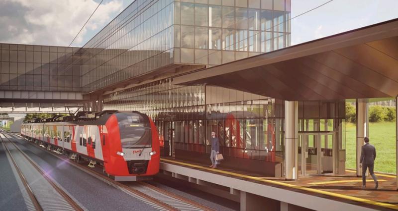 Новые станции Курского направления построят ввиде стеклянных кубов
