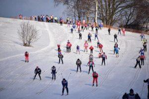 Лыжная гонка среди людей с ОВЗ состоится 20 января в парке «Садовники». Фото: архив, «Вечерняя Москва»