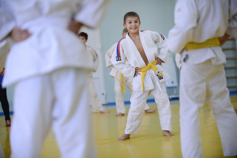 Воспитанники спортивной школы №47 завоевали на турнире по дзюдо 12 медалей