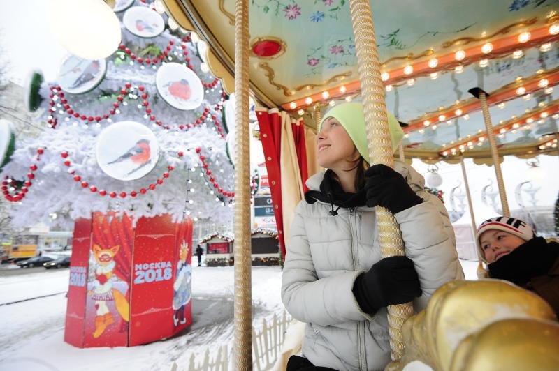 Более 80 тысяч человек посетило площадку фестиваля «Путешествие в Рождество»