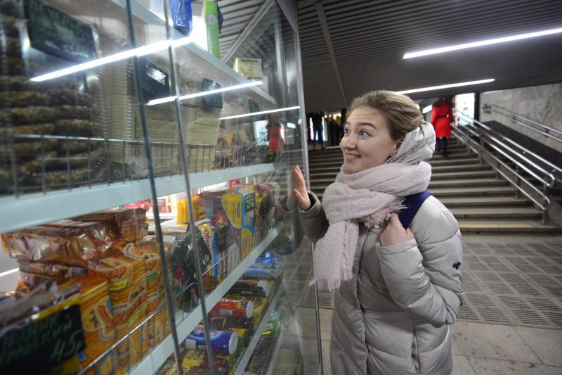 Торговые павильоны появятся в вестибюле станции МЦК «Верхние Котлы»