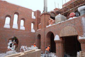 За 2018-2019 годы специалисты собираются достроить и открыть новый храм в районе Братеево. Фото: скриншот с сайта Стройкомплекса