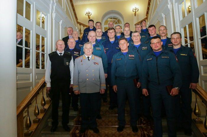 Сергей Собянин вручил награды московским пожарным и спасателям