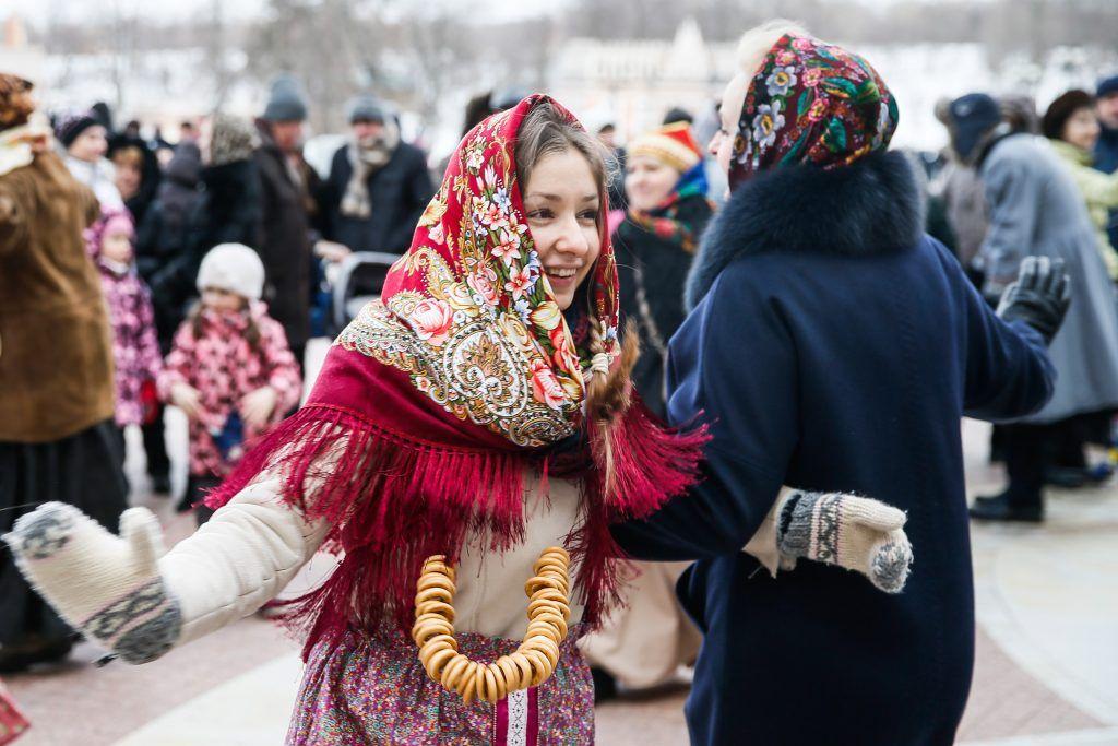 Фестиваль блинов и зимних забав