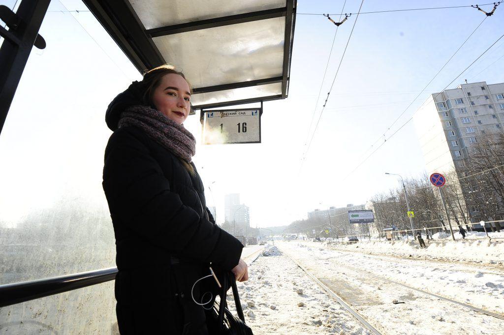 Трамвай отправляется по расписанию