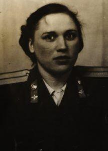 Тамара Александровна Усова в молодости
