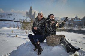 Нынешнюю зиму в Москве признали самой влажной