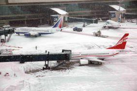 Аэропорты в Москве подготовились к морозам
