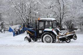 Улицы Москвы расчистили от снега
