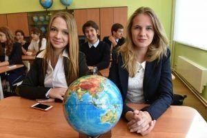 """Открытие сделали школьники. Фото: """"Вечерняя Москва"""""""