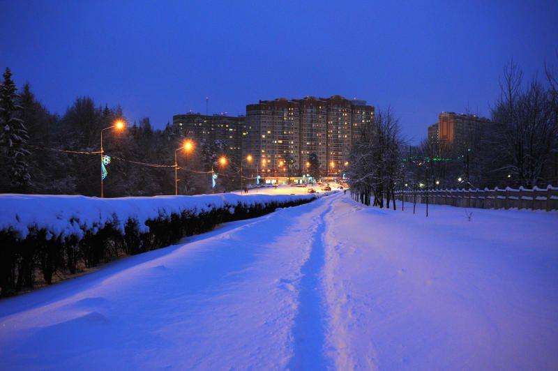 Небольшой снег пойдет в Москве