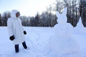 Вновь высота снежного покрова в городе приблизится к 50 сантиметрам. Фото: Пелагия Замятина